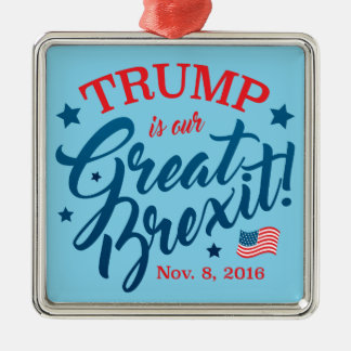 Ornamento De Metal Trunfo Brexit