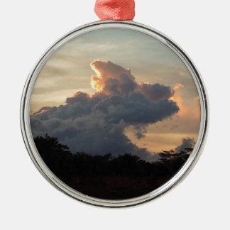 Ornamento De Metal Tubarão da nuvem