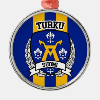 Ornamento De Metal Turku