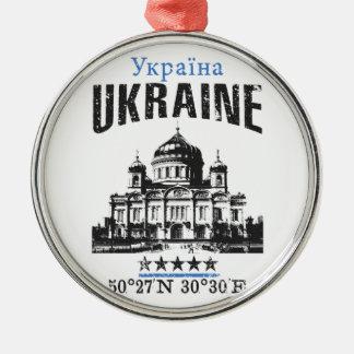 Ornamento De Metal Ucrânia