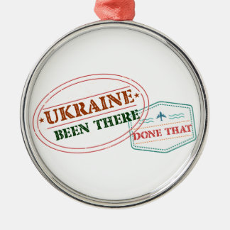 Ornamento De Metal Ucrânia feito lá isso