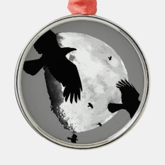 Ornamento De Metal Um assassinato dos corvos e da lua