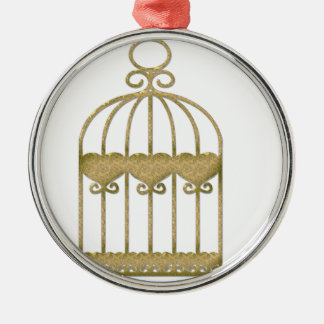 Ornamento De Metal Uma gaiola é uma gaiola mesmo se é bonita