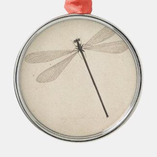 Ornamento De Metal Uma libélula, por Nicolaas Struyk, cedo 18o C.