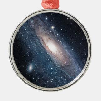 Ornamento De Metal universo do cosmos da Via Láctea da galáxia do