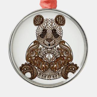 Ornamento De Metal Urso de panda