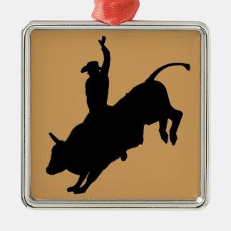Ornamento De Metal Vaqueiro florescente do rodeio da equitação de
