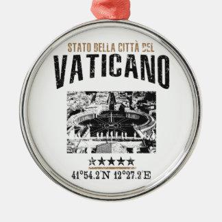 Ornamento De Metal Vaticano
