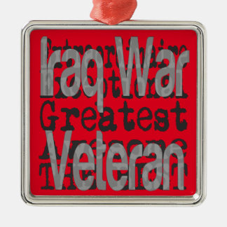 Ornamento De Metal Veterano da guerra no iraque Extraordinaire