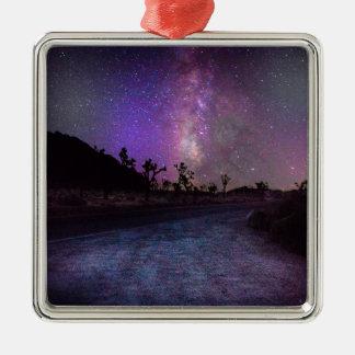 Ornamento De Metal Via Láctea do parque nacional de árvore de Joshua
