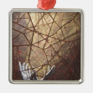 Ornamento De Metal Vidro quebrado e luz solar