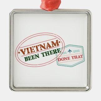 Ornamento De Metal Vietnam feito lá isso