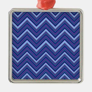Ornamento De Metal Vigas do azul da sarja de Nimes