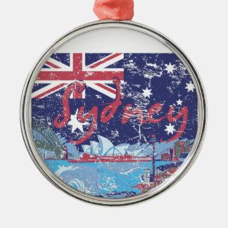 Ornamento De Metal vintage Austrália de sydney