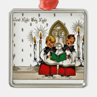 Ornamento De Metal vintage-santa-christmas-post-cards-0029