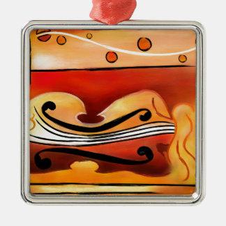 Ornamento De Metal Vioselinna - beleza suportada violino