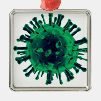 Ornamento De Metal Vírus