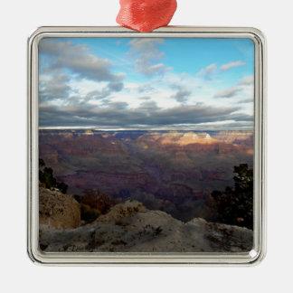 Ornamento De Metal Vista panorâmica do Grand Canyon