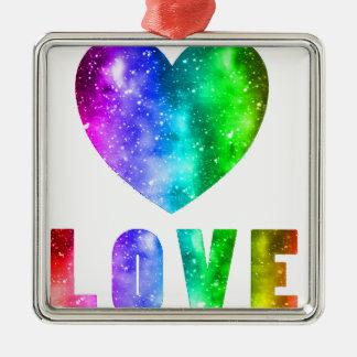 Ornamento De Metal Vitórias do amor