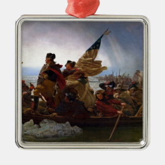 Ornamento De Metal Washington que cruza arte do vintage do Delaware -