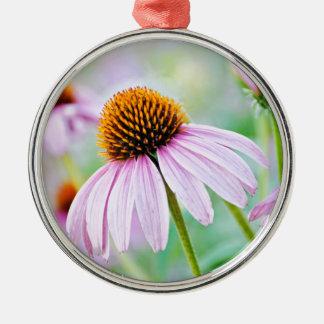 Ornamento De Metal Wildflowers roxos