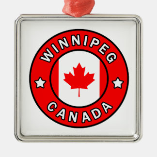 Ornamento De Metal Winnipeg Canadá
