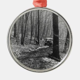 Ornamento De Metal Woodsman