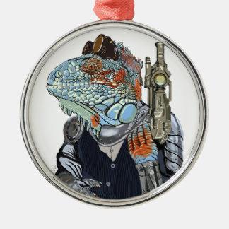 Ornamento De Metal Xerife do dragão do vapor