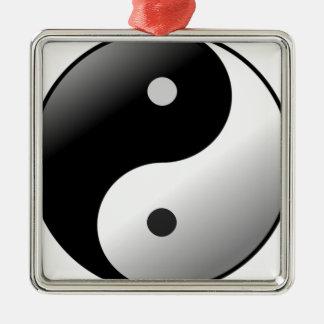 Ornamento De Metal Yin Yang