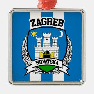 Ornamento De Metal Zagreb
