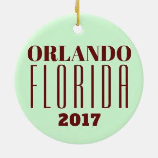 Ornamento de Orlando customizável, Florida