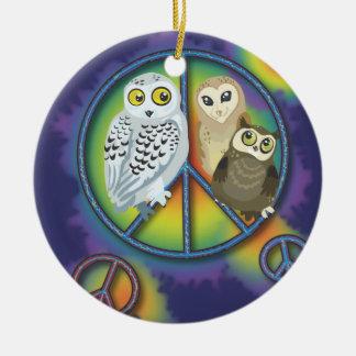 Ornamento de Owl~ da paz