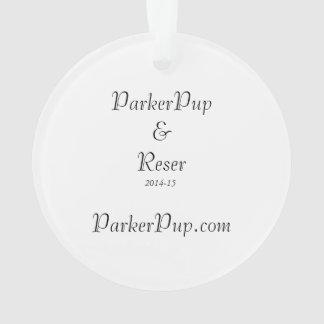 Ornamento de ParkerPup 2014-15 & de Reser