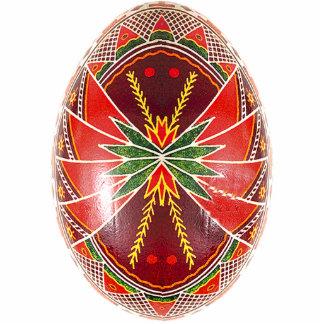 Ornamento de Pysanky (ovo da páscoa ucraniano) Escultura Fotos