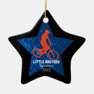 Ornamento de salto da bicicleta do big brother do