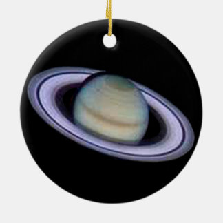 Ornamento de Saturn do planeta