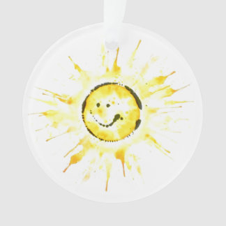 Ornamento de Sun do smiley