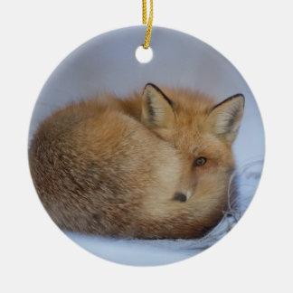 ornamento de suspensão da raposa, decoração foxy