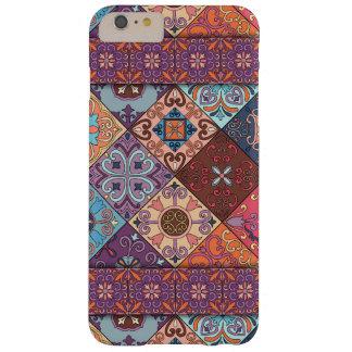 Ornamento de talavera do mosaico do vintage capa barely there para iPhone 6 plus