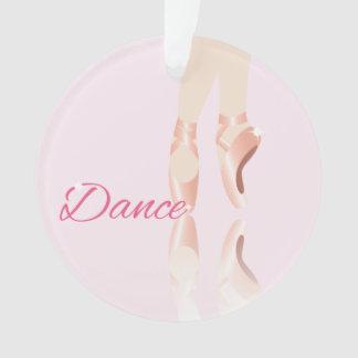 Ornamento Deslizadores do balé da dança