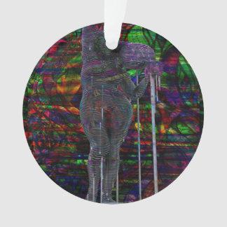Ornamento Deusa abstrata do Aquário