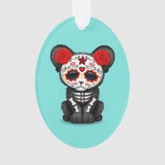 Ornamento Dia vermelho da pantera preta inoperante Cub
