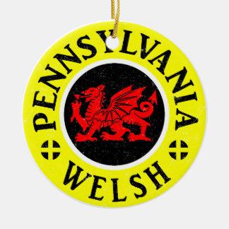 Ornamento do americano de Pensilvânia Galês