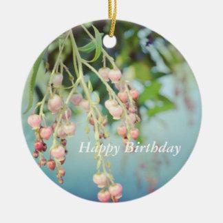 Ornamento do aniversário