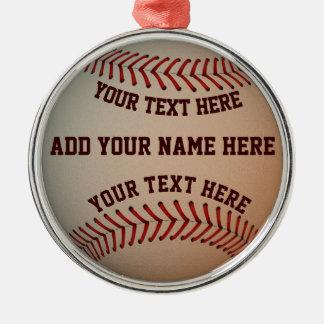Ornamento do basebol