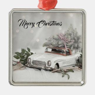 Ornamento do Benz de Mercedes do Feliz Natal