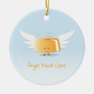 Ornamento do bolo de anjo |