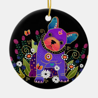 ORNAMENTO do buldogue francês de BINDI FRENCHIE
