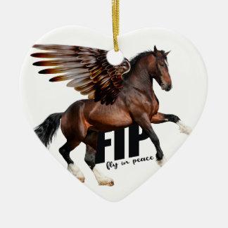 Ornamento do cavalo de Chirstmas