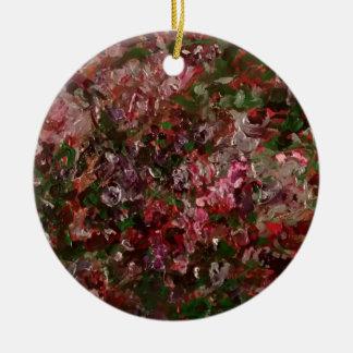 ornamento do círculo com saco do presente